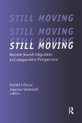 Still Moving: Recent Jewish Migration in Comparative Perspective book cover