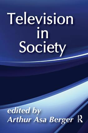 Television in Society: 1st Edition (Paperback) book cover