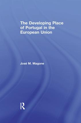 The Developing Place of Portugal in the European Union: 1st Edition (Paperback) book cover