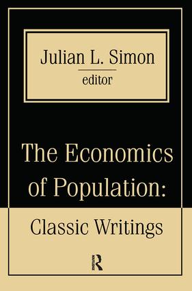 The Economics of Population: Key Classic Writings, 1st Edition (Paperback) book cover