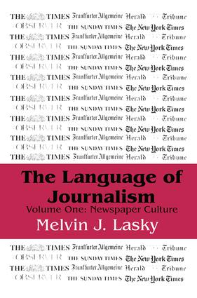 The Language of Journalism