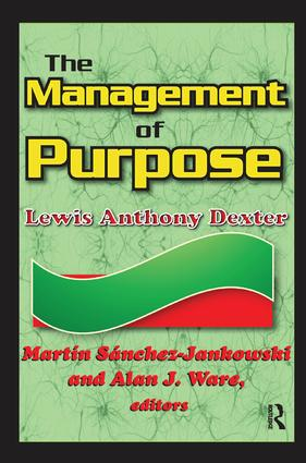 The Management of Purpose