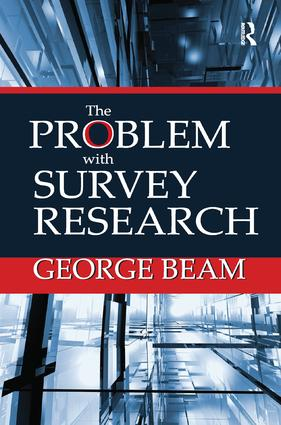 The Problem with Survey Research (Paperback) book cover