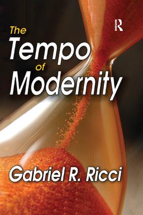 The Tempo of Modernity: 1st Edition (Paperback) book cover