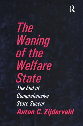 The Waning of the Welfare State book cover