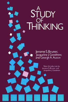 A Study of Thinking: 2nd Edition (Hardback) book cover