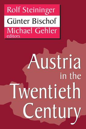 Austria in the Twentieth Century: 1st Edition (Paperback) book cover