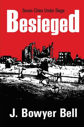 Besieged: Seven Cities Under Siege, 1st Edition (Hardback) book cover