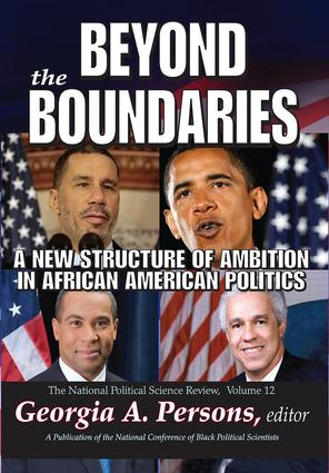 Beyond the Boundaries: A New Structure of Ambition in African American Politics book cover