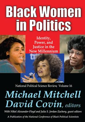 Black Women in Politics: Identity, Power, and Justice in the New Millennium book cover