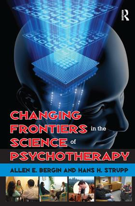 Changing Frontiers in the Science of Psychotherapy: 1st Edition (Hardback) book cover