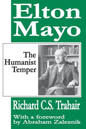 The Character and Contributions of Elton Mayo