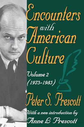 Encounters with American Culture: Volume 2, 1973-1985, 1st Edition (Paperback) book cover