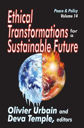 Ethical Transformations for a Sustainable Future: Peace and Policy book cover