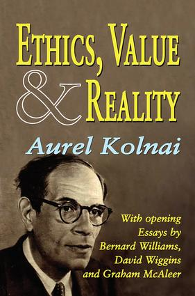 Ethics, Value, and Reality: 1st Edition (Paperback) book cover