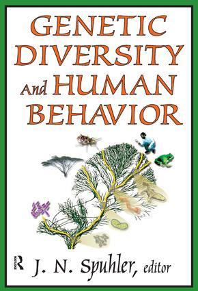 Genetic Diversity and Human Behavior: 1st Edition (Hardback) book cover