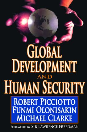 Global Development and Human Security: 1st Edition (Hardback) book cover