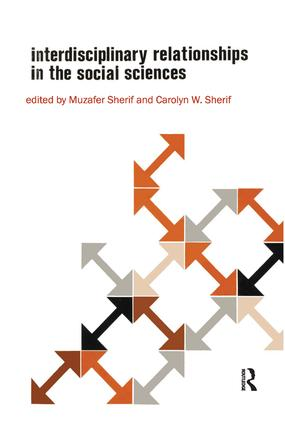 Interdisciplinary Relationships in the Social Sciences: 1st Edition (Hardback) book cover