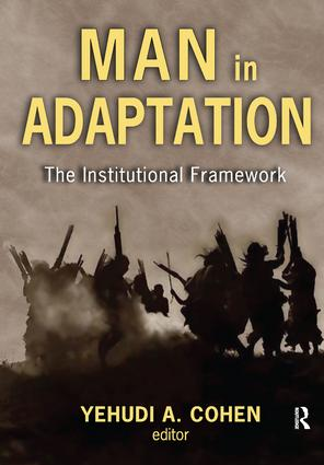 Man in Adaptation: The Institutional Framework, 1st Edition (Hardback) book cover