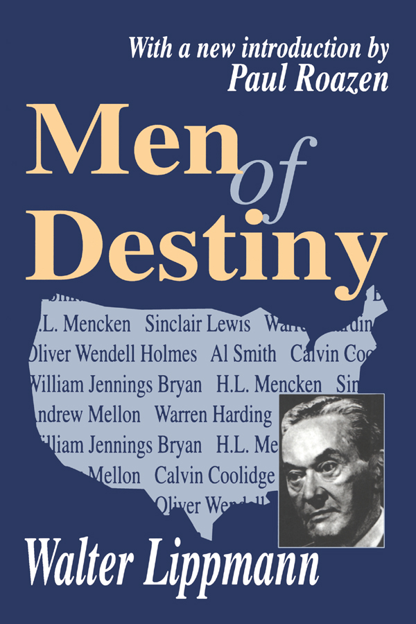 Men of Destiny: 1st Edition (Paperback) book cover