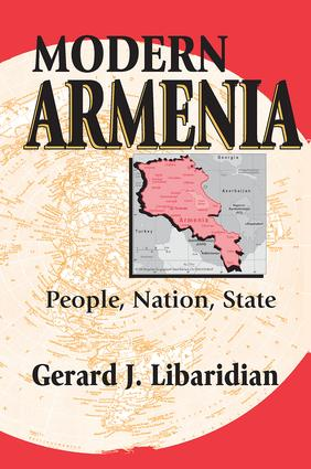 Modern Armenia: People, Nation, State, 1st Edition (Paperback) book cover
