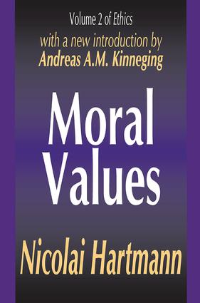 Moral Values: 1st Edition (Hardback) book cover