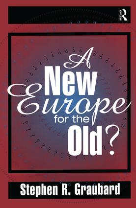 A New Europe for the Old?: 1st Edition (Hardback) book cover