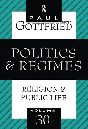 Politics and Regimes book cover