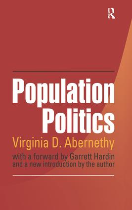 Population Politics: The Choices That Shape Our Future, 1st Edition (Paperback) book cover
