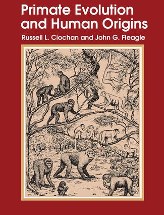 Primate Evolution and Human Origins: 1st Edition (Hardback) book cover