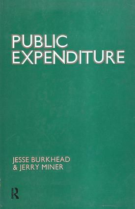 Public Expenditure: 1st Edition (Hardback) book cover