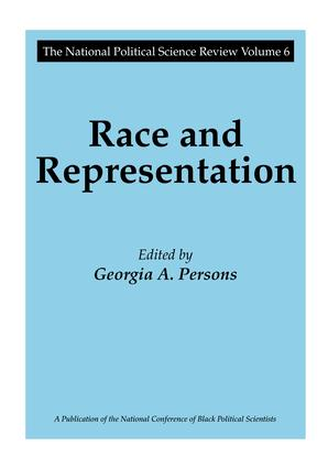Race and Representation: 1st Edition (Hardback) book cover