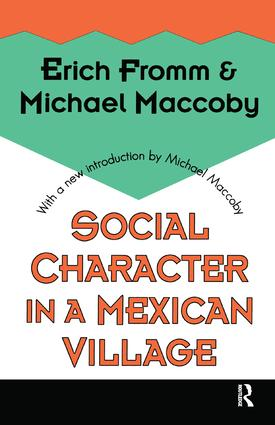 Social Character in a Mexican Village: 1st Edition (Paperback) book cover