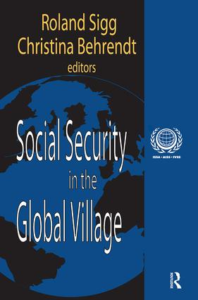 Social Security in the Global Village: 1st Edition (Hardback) book cover