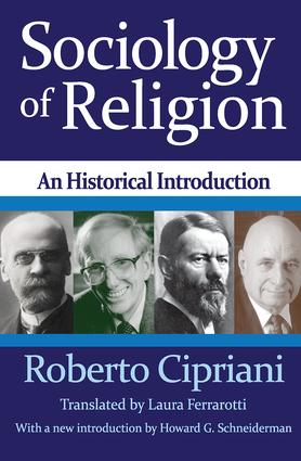 Sociology of Religion: An Historical Introduction, 2nd Edition (Paperback) book cover