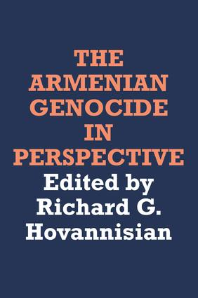 The Armenian Genocide in Perspective: 1st Edition (Hardback) book cover