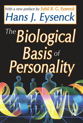 The Biological Basis of Personality: 1st Edition (Paperback) book cover