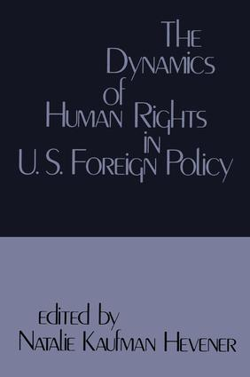 Domestic Consequences of United States Human Rights Policies