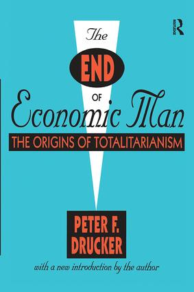 The End of Economic Man: The Origins of Totalitarianism book cover