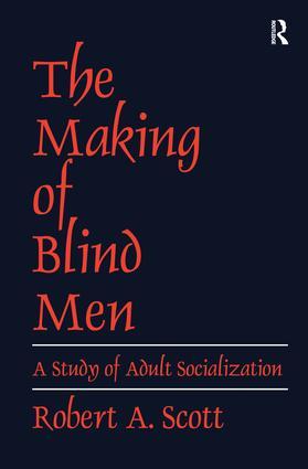 The Making of Blind Men: 1st Edition (Hardback) book cover