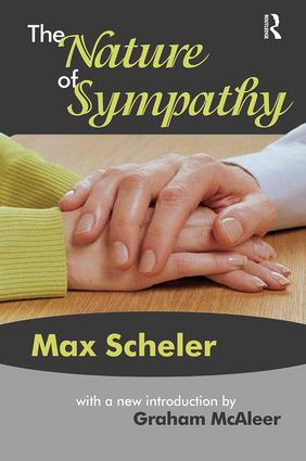 The Nature of Sympathy: 1st Edition (Paperback) book cover