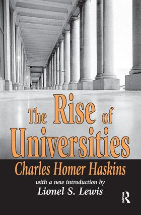 The Earliest Universities