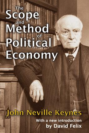 The Scope and Method of Political Economy: 1st Edition (Paperback) book cover