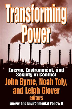 Transforming Power: Energy, Environment, and Society in Conflict book cover