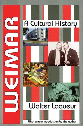 Weimar: A Cultural History, 1st Edition (Paperback) book cover
