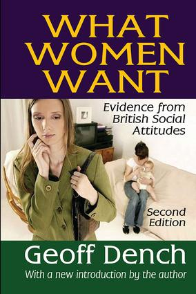 What Women Want: Evidence from British Social Attitudes, 2nd Edition (Paperback) book cover