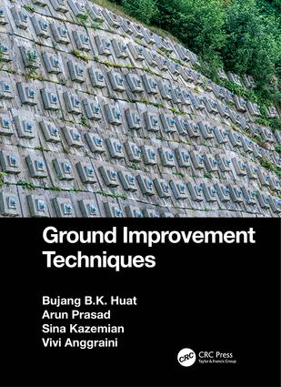 Ground Improvement Techniques: 1st Edition (Hardback) book cover