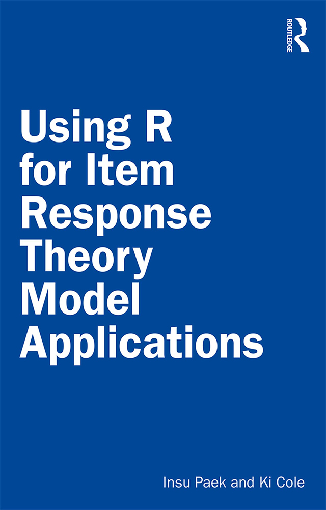 Using R for Item Response Theory Model Applications book cover