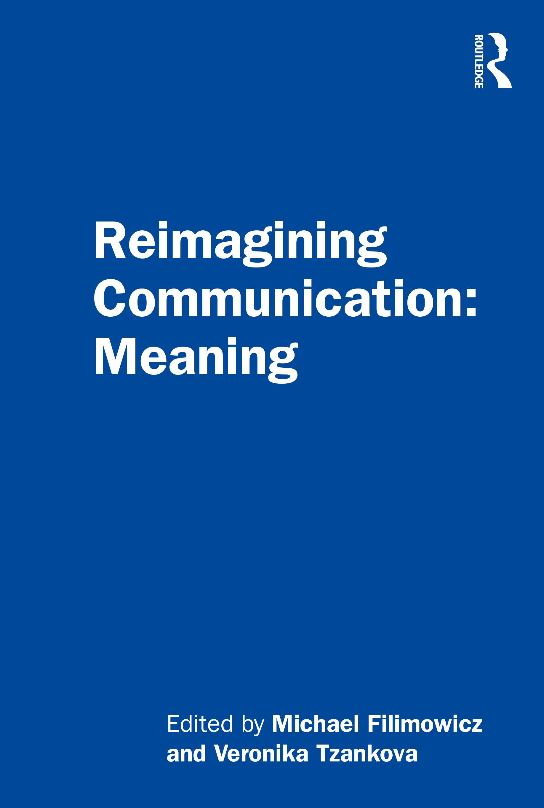 Reimagining Communication: Meaning book cover