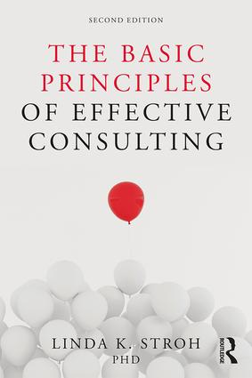 The Basic Principles of Effective Consulting book cover